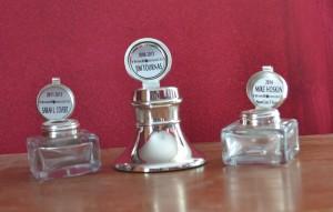 Silver Inkwells