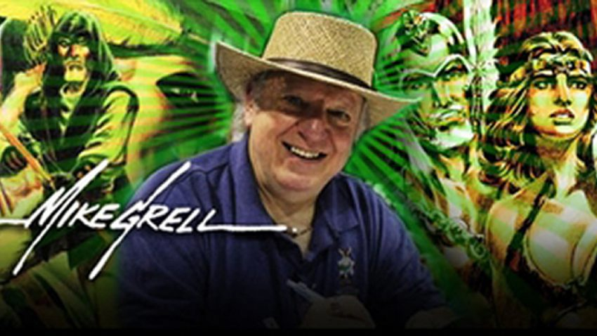 MIKE GRELL BANNER